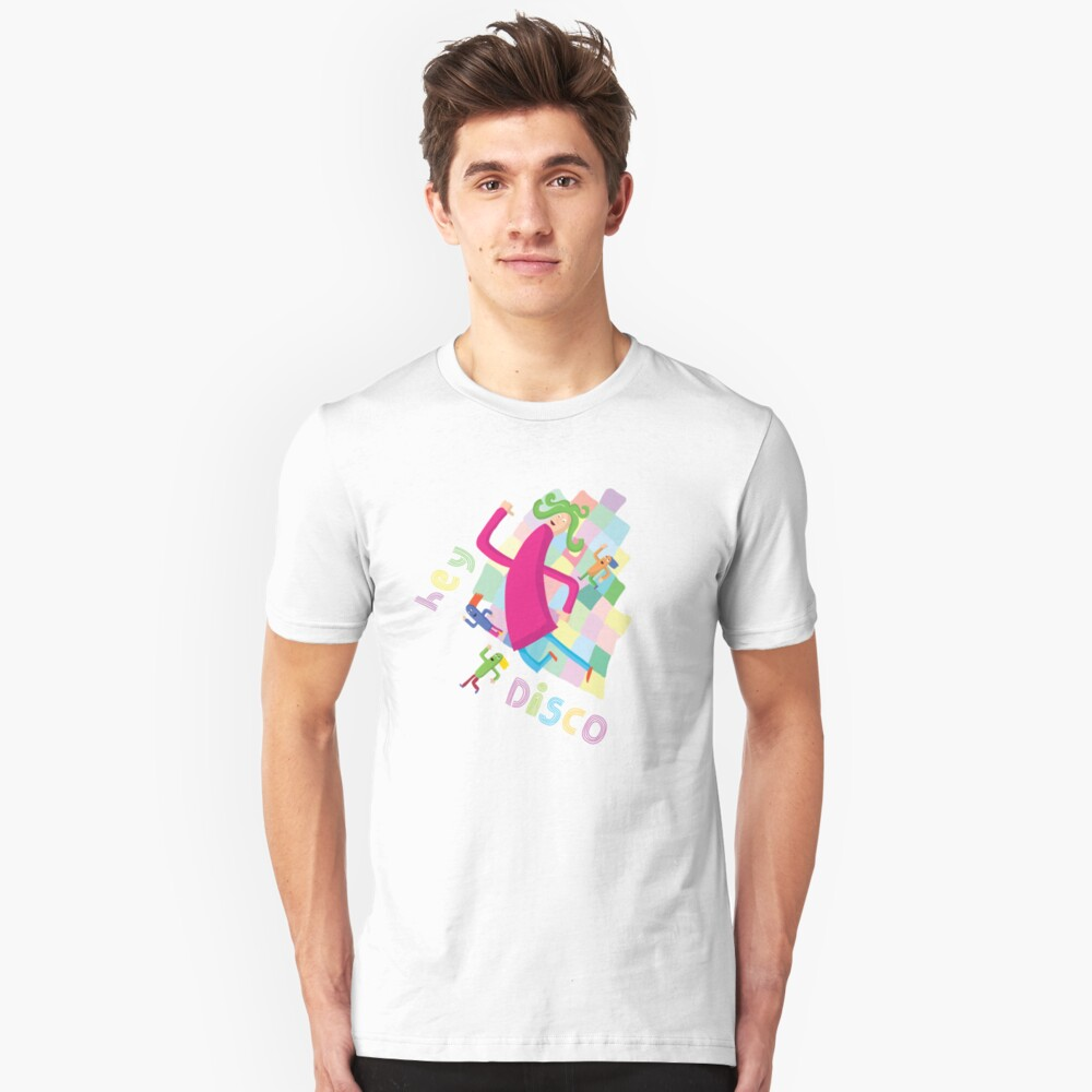 Hey Disco Slim Fit T-Shirt