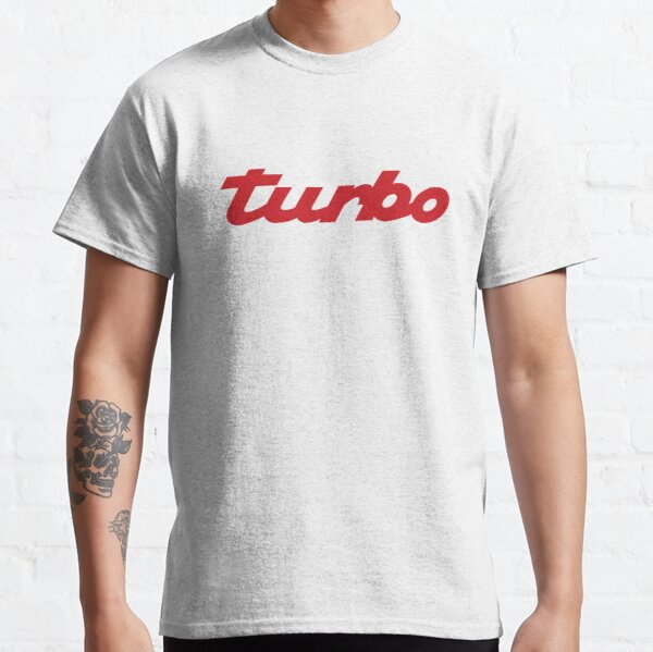 PORSCHE TURBO (Guards Red color) Classic T-Shirt