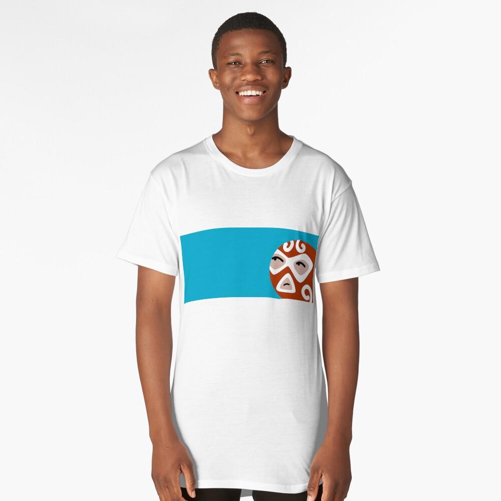 Luchador Long T-Shirt Front