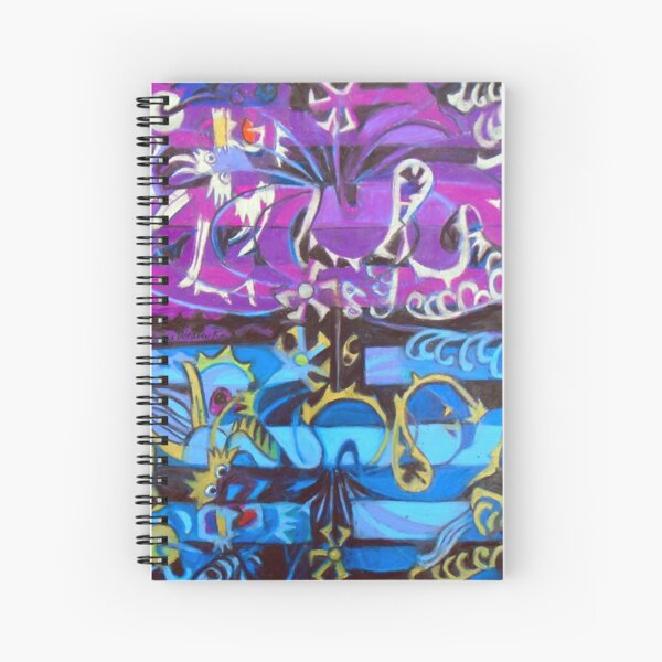 Hexagram 6: Sung  (Creative Tension) Spiral Notebook