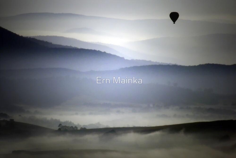Yarra Valley Mist by Ern Mainka