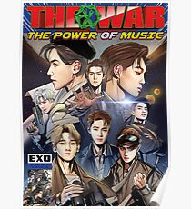 the power of music - exo  Poster