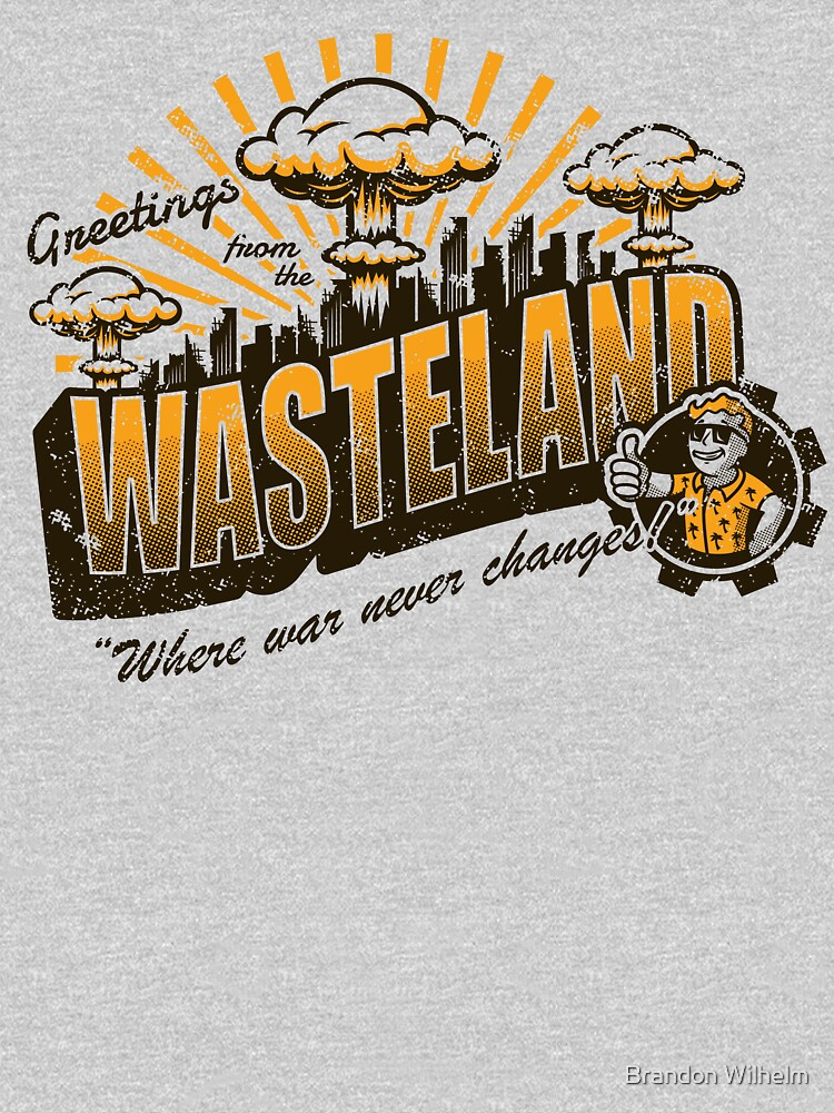 TShirtGifter presents: Greetings from the Wasteland! | Unisex T-Shirt