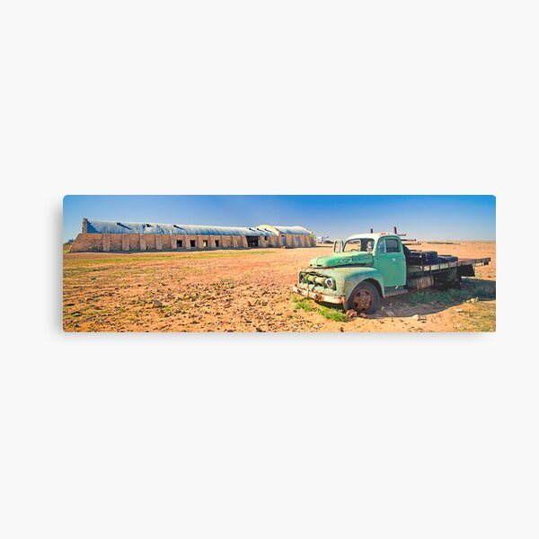 Cordillo Downs Woolshed Metal Print