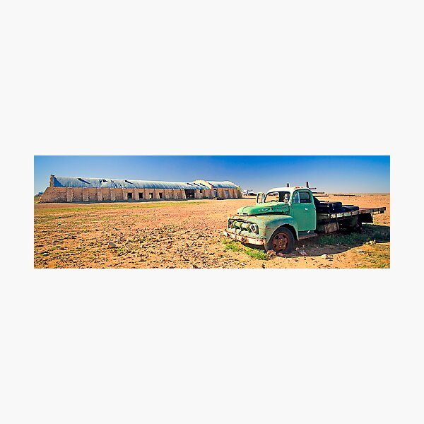 Cordillo Downs Woolshed Photographic Print