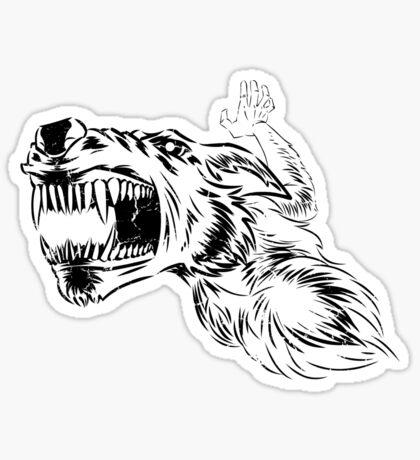 Halloween Symphony - Middle - Full Moon Sticker