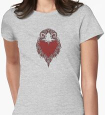 Heart of an Eagle Women's Fitted T-Shirt