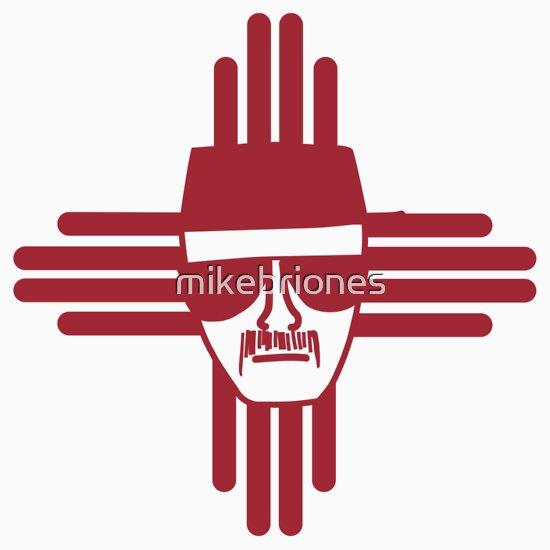"""""""Heisenberg Zia Symbol New Mexico Flag"""" T-Shirts & Hoodies ..."""