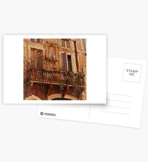 Faded Splendour In The Eternal City Postcards