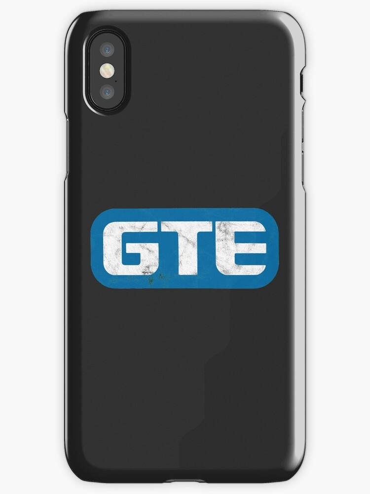 GTE Distressed Logo by turboglyde