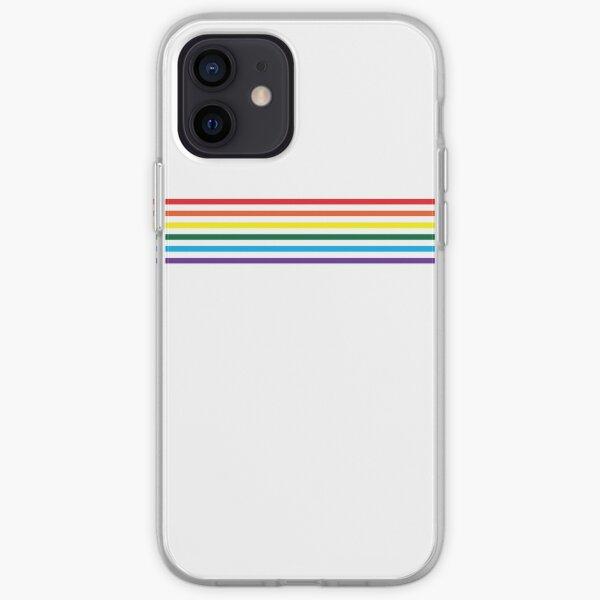 Simple Gay Pride Coque souple iPhone