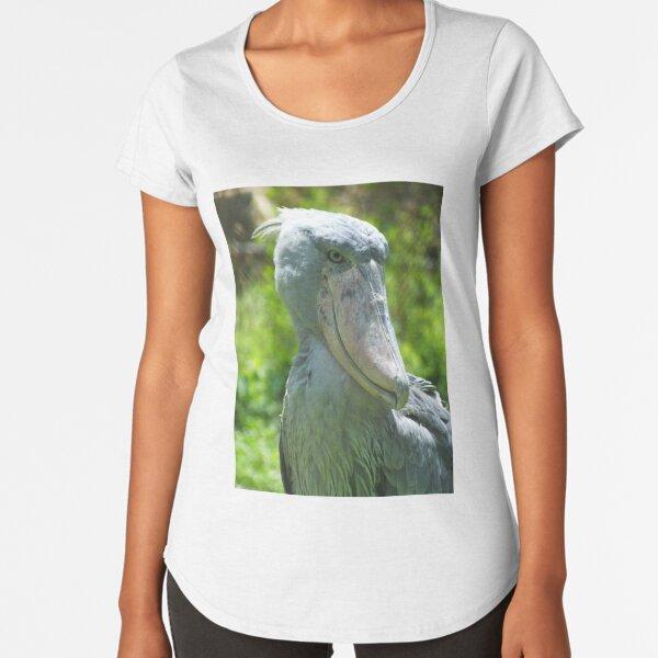 Ugandan Shoebill Premium Scoop T-Shirt