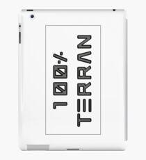 100% Terran - Earth Born and Bred iPad Case/Skin