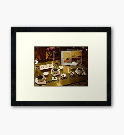 Chocolate Lover Framed Print