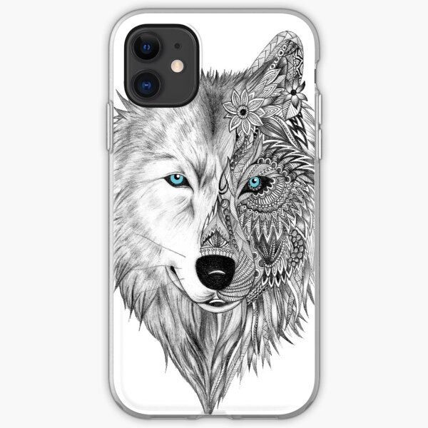 The White Wolf iPhone Soft Case