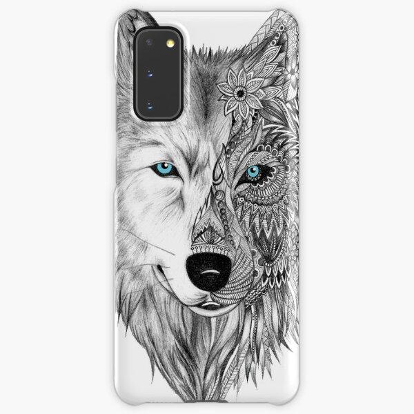 The White Wolf Samsung Galaxy Snap Case