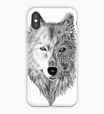 The White Wolf iPhone Case