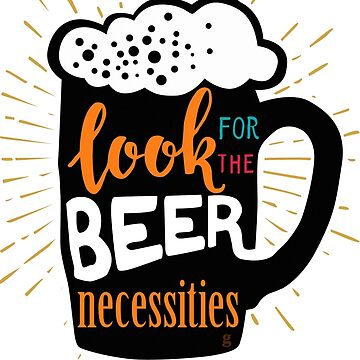 beer necessities  by gtee