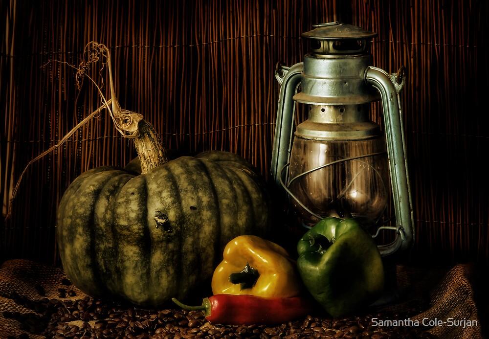 Capsicums by Samantha Cole-Surjan