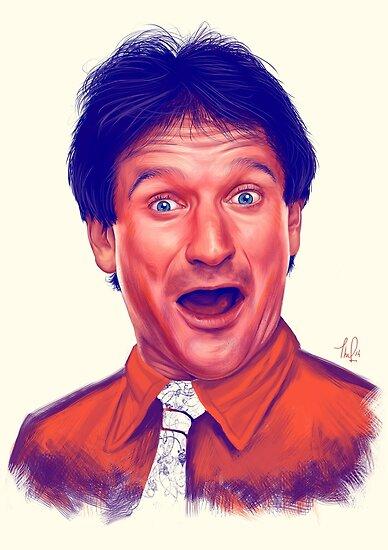 Junger Robin Williams von Thubakabra
