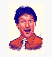 Young Robin Williams Photographic Print
