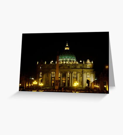 Holy Light Greeting Card