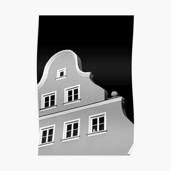 Germany. Bavaria. Landshut. (Alan Copson © 2008) Poster