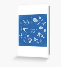 Science it up Greeting Card