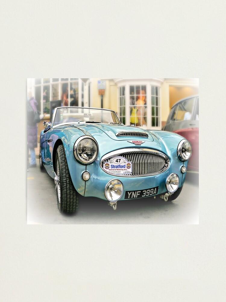 Alternate view of British Sports Car Photographic Print