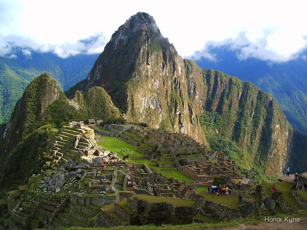 Machu Picchu, Andes by Honor Kyne