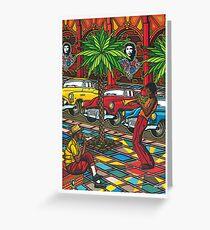 Cuba - la Havane Greeting Card