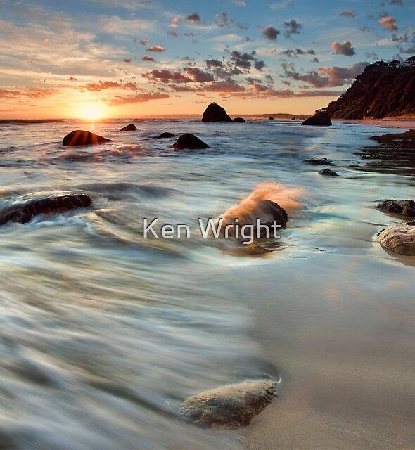 Newdicks Dawn Splash by Ken Wright