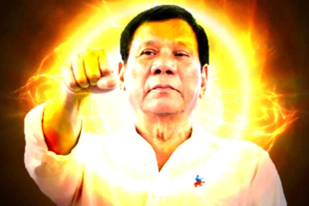 Duterte Fist by nonbinary