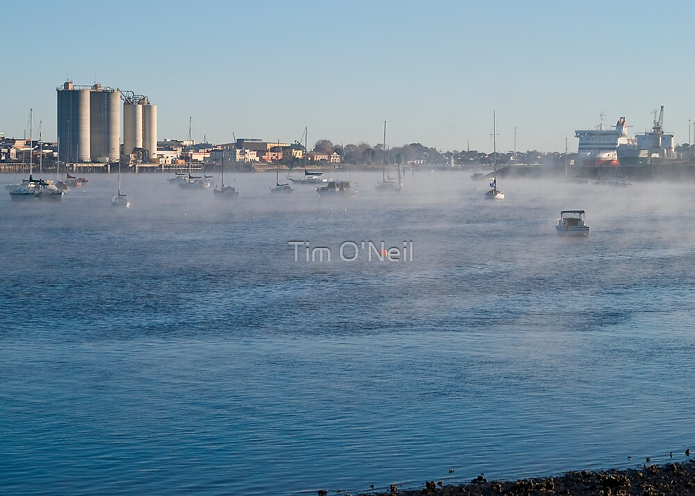 Mersey River Mist by Tim O'Neil