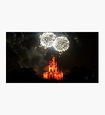 Fireworks Fantasy Photographic Print