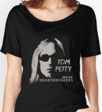 Tom Petty - Silhouette Women's Relaxed Fit T-Shirt