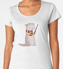 Harry Pawter Otter  Women's Premium T-Shirt