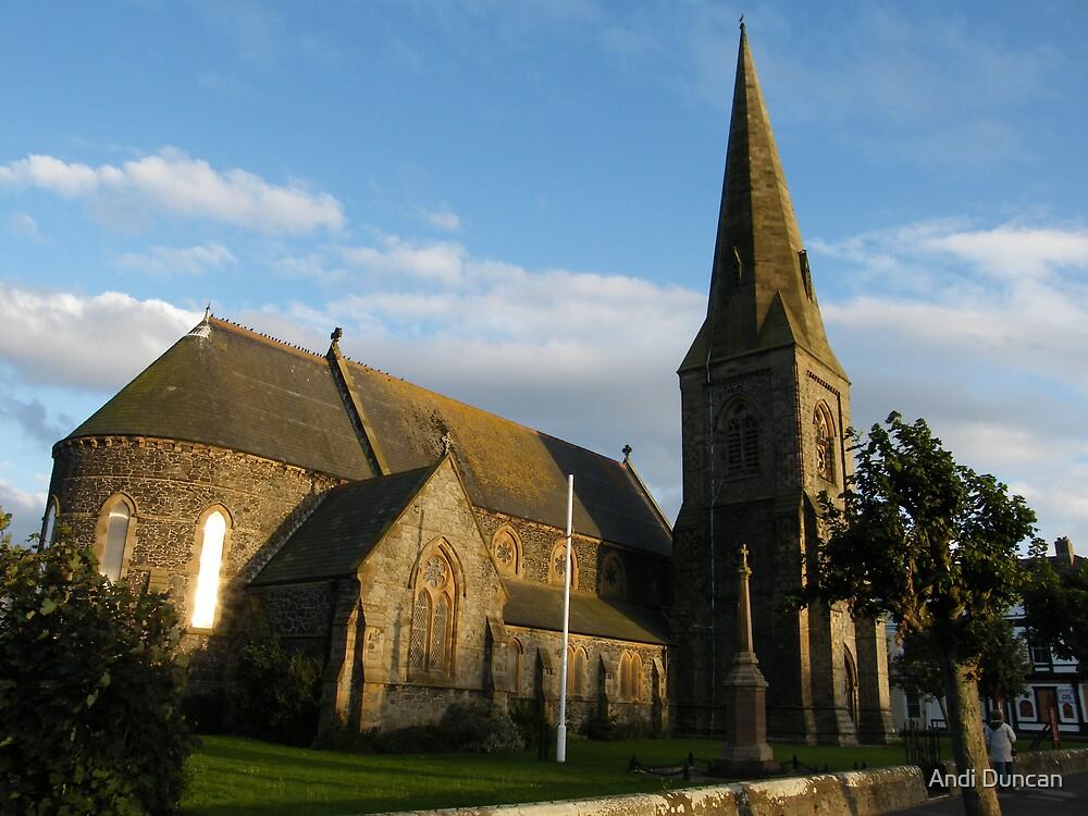 Silloth Church by Andi Duncan