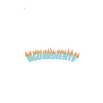 Aguardiente in flames by JudyVivrant