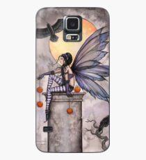 Autumn Raven Fantasy Gothic Fairy and Ravens  Case/Skin for Samsung Galaxy