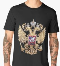 Russian Coat Of Arms Men's Premium T-Shirt