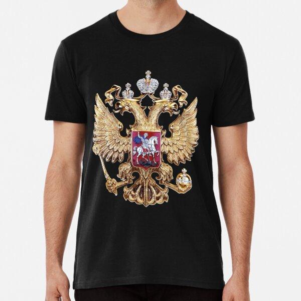 Russian Coat Of Arms Premium T-Shirt