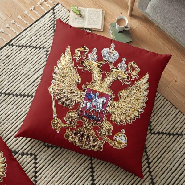 Russian Coat Of Arms Floor Pillow