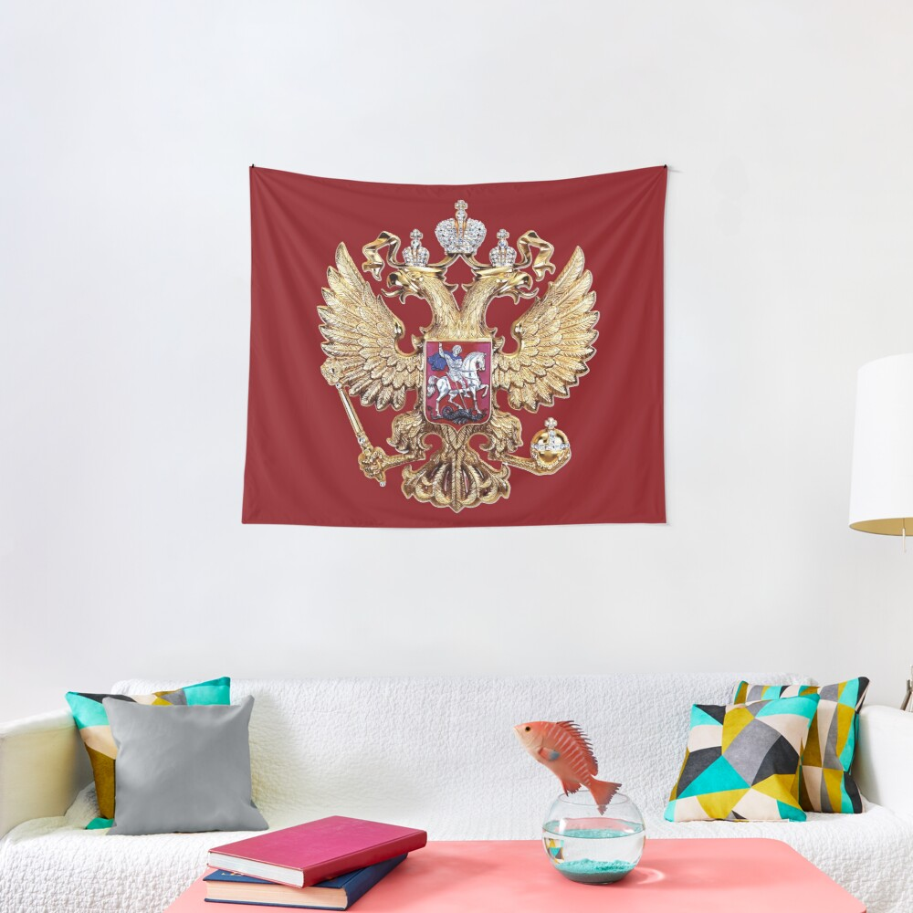 Russian Coat Of Arms Tapestry