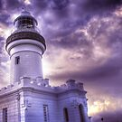 Byron Lighthouse HDR by Steve Chapple