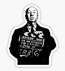 Hitchcock Sticker