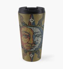 Vintage Celestial mosaic Sun & Moon Thermobecher