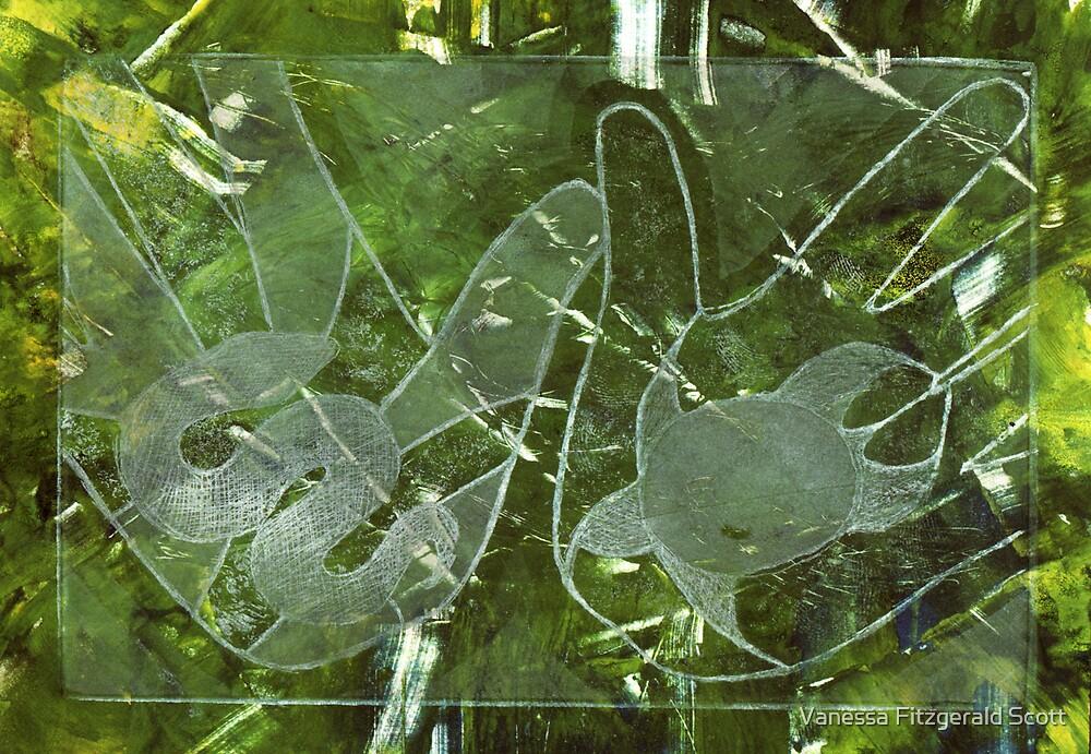 ngoonjbear & binging (snake & turtle) #7 by Ness Fitzgerald