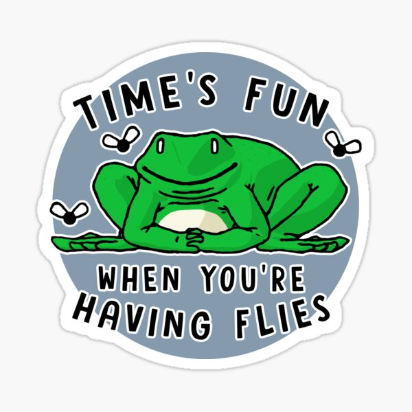 Time's Fun Sticker