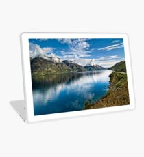 Beautiful Lake Wakatipu New Zealand Laptop Skin